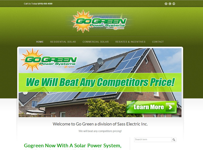 Go Green Power Systems