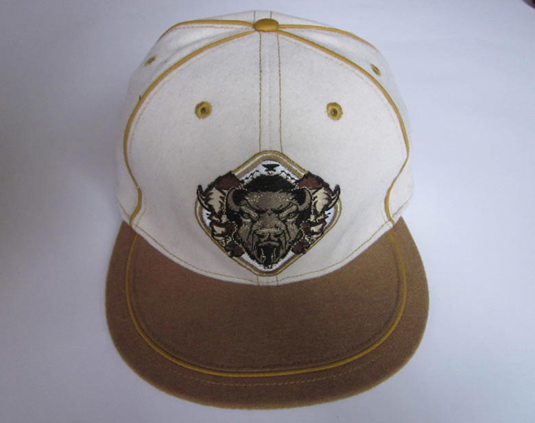 Brown Buffalo Cap