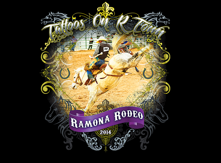Ramona Rodeo T-shirts (Black)