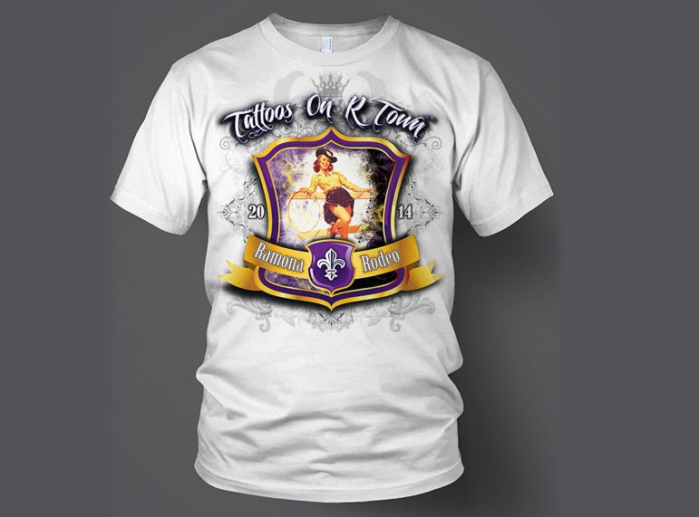 Ramona Rodeo T-shirts (white)